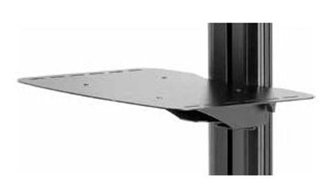 Peerless ACC-MS SmartMount Metal Shelf for SR Flat Panel Cart and SS Flat Panel Stand ACC-MS