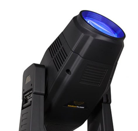 High End Systems SolaWash 2000 600W Bright White Moving Head LED Wash Luminaire with Road Case SOLAWASH-2000