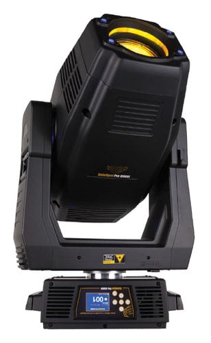 High End Systems SolaSpot 2000 HC6500K 600W Bright White Moving Head LED with Roadcase SOLASPOT-2000-6500K