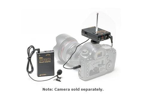 Azden WLX-PRO+i i-Coustics® Wireless Lavalier Microphone System for DSLR Cameras, Camcorders, Smartphones & Tablets WLX-PRO+I