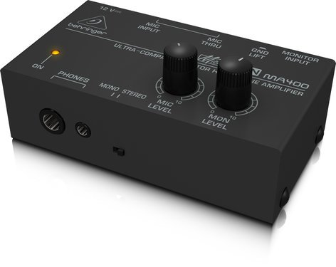 Behringer MicroMON MA400 Ultra-Compact Headphone Amplifier MA400-MICROMON
