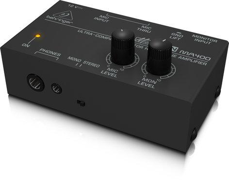 Behringer MicroMON MA400 Ultra-Compact Headphone Amplifier MA400-MICROMON