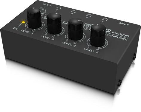 Behringer HA400-MICROAMP 4 Channel headphone amplifier HA400-MICROAMP