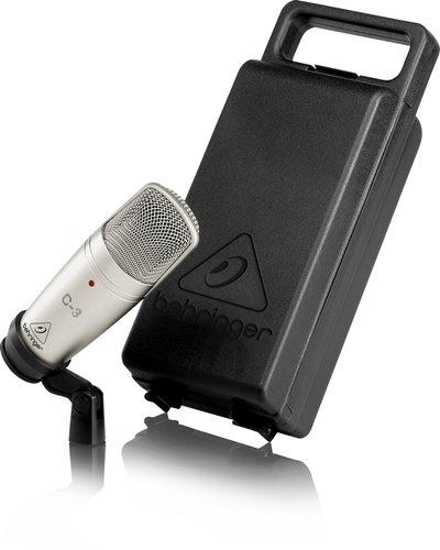 Behringer C-3 Large Dual-Diaphragm Multi-Pattern Condenser Microphone C-3