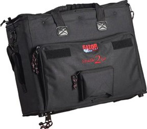 Gator Cases GSR-2U Studio-2-Go Series Padded Bag for Laptop and Recording Equipment GSR2U