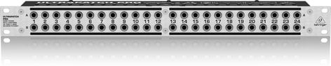 Behringer PX3000-ULTRAPATCH Patchbay, 3-Mode Multi-Function PX3000-ULTRAPATCH