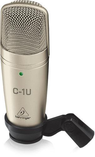 Behringer C-1U USB Large Diaphragm Cardioid Condenser Microphone C-1U