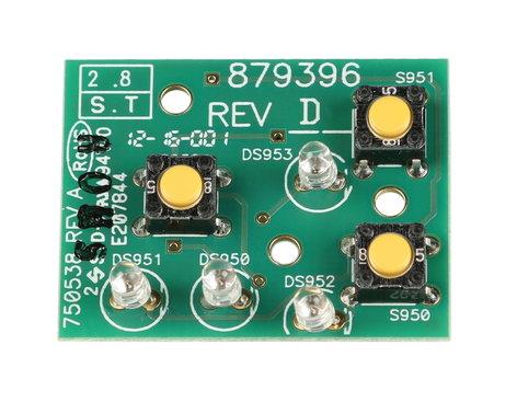 Telex F.01U.110.774 TR-8 Top Panel PCB F.01U.110.774