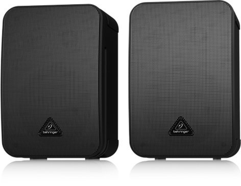 Behringer MONITOR 1C 1 Pair of Ultra Compact Passive Monitor Speakers in Black 1C-MONITOR-BLACK