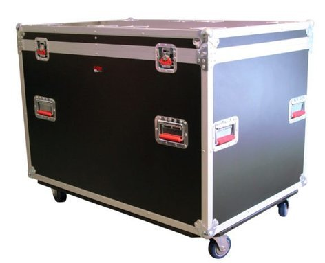 Gator Cases G-TOURTRK4530HS ATA Tour-Style Truck Pack Road Trunk with Casters G-TOUR-TRK-4530HS