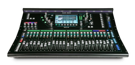 Allen & Heath SQ-6 Digital Mixer with 48 Channels and 36 Bus, 120V SQ-6