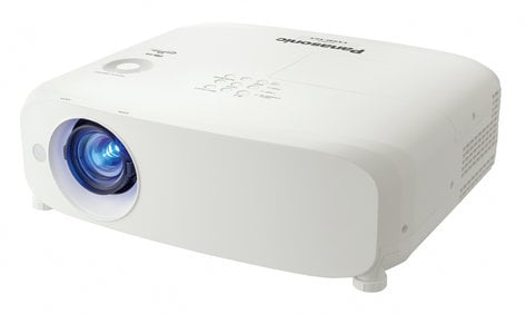 Panasonic PT-VX610U 5500 Lumen XGA LCD Portable Projector with 1.6x Manual Zoom in White PTVX610U