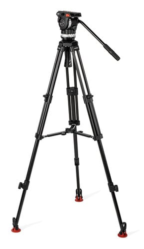 Sachtler System ACE XL MS AL Tripod System with ACE XL Fluid Head and Mid-Level Spreader 1018A