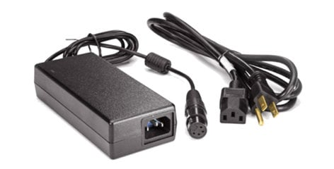 AJA KPU-PWR-SUPPLY  Ki Pro Ultra Power Supply with Power Cord  KPU-PWR-SUPPLY