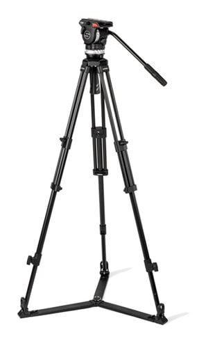 Sachtler System ACE XL GS AL Tripod System with ACE XL Fluid Head and Ground Spreader 1019A