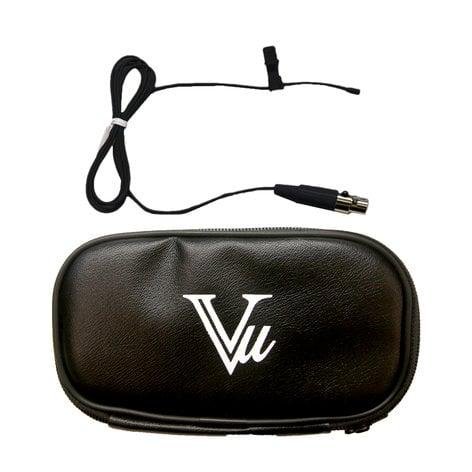 Vu LM6000-TA4F-BK Black Lapel Microphone LM6000-TA4F-BK