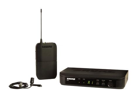 Shure BLX14/CVL-H10 Wireless System with CVL Lavalier Microphone BLX14/CVL-H10