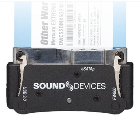 Sound Devices PIX-CADDY-2 SSD Mount Accessory for PIX HD Recorders PIX-CADDY-2