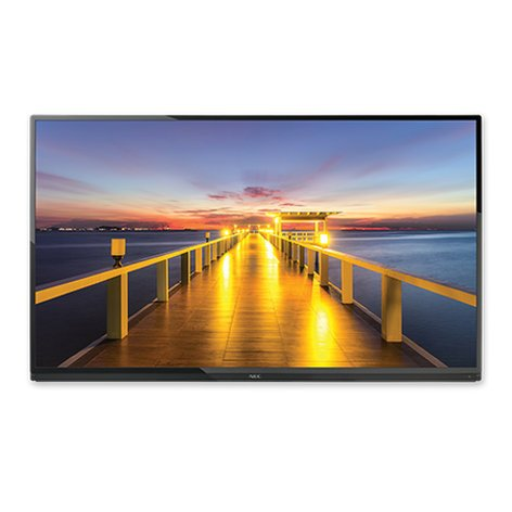 """NEC Visual Systems 65"""" LED Backlit Display Commercial-Grade LCD Display E655"""