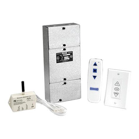 Da-Lite 82433 Radio Frequency Wireless Remote Control, Single Motor LVC, For Da-Lite Single Motor Screens 82433