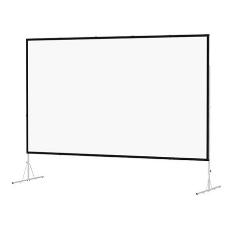 """Da-Lite 88696 67"""" x 91"""" Fast-Fold Deluxe Truss Frame Dual Vision Projection Screen 88696"""