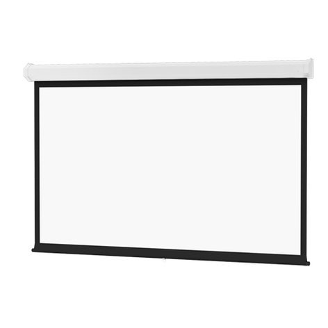 "Da-Lite 93229 65"" x 116"" Model C High Contrast Matte White Screen 93229"