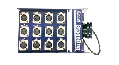 Radial Engineering R490-1232-00  Stage Bug Stage Box with 39-Pin Chassis Disconnect R490-1232-00