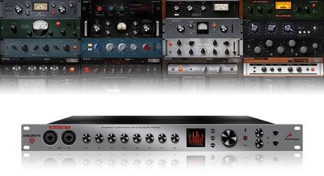 Antelope Audio DISCRETE-8+FX Discrete 8 + FX Console-grade Discrete 8 Mic Preamp with Premium FX Pack DISCRETE-8+FX
