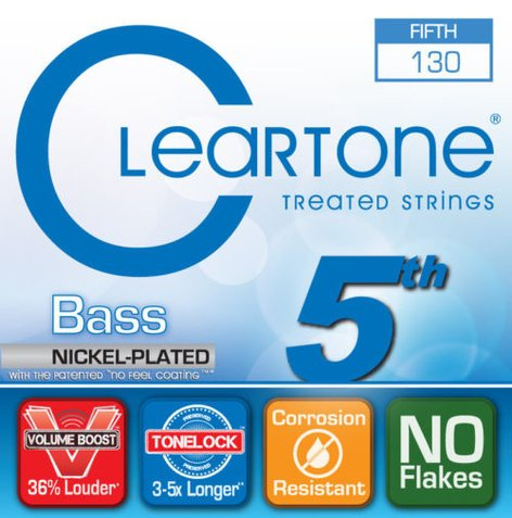 "Cleartone Guitar Strings 64130 0.130"" 5th String for Bass 64130-CLEARTONE"