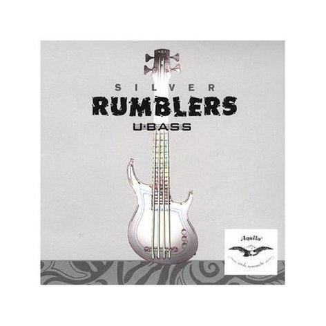 Aquila Strings AQ-UBASS-RMBL Aquila Silver Rumblers U-Bass Strings AQ-UBASS-RMBL
