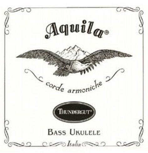 Aquila Strings AQ-TG-4 Aquilla Thundergut Strings for 4-String Bass Ukeleles AQ-TG-4
