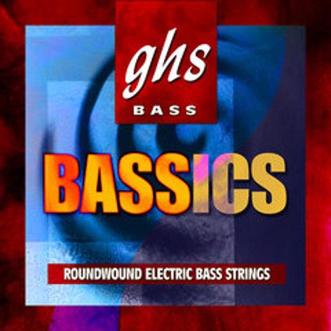GHS M6000 Medium Bassics Standard Long Scale Electric Bass Strings M6000