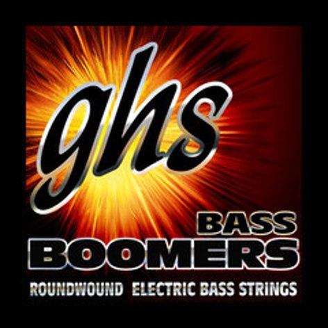 GHS Strings M3045 Medium Bass Boomers Long Scale Electric Bass Strings M3045