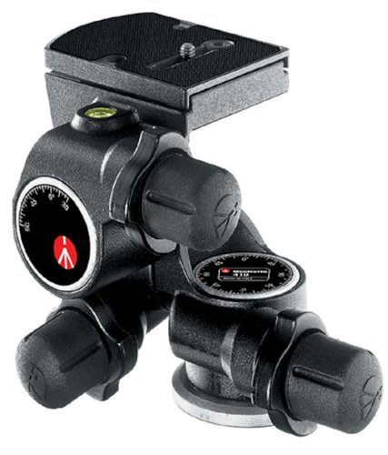 Manfrotto 410 Junior Geared Tripod Head (with RC4 Rapid Connect Plate) 410-MANFROTTO
