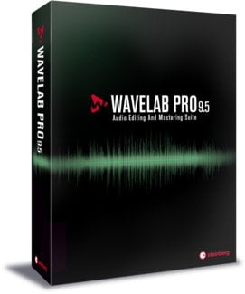 Steinberg WaveLab Pro 9.5 [BOXED] Audio Editing and Mastering Suite Software WAVELAB-PRO-9.5