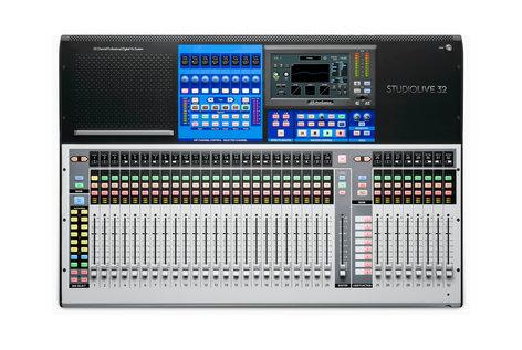 PreSonus StudioLive 32 [DEMO MODEL] 40-Input Digital Console/Recorder with 33 Motorized Faders STUDIOLIVE-32-DEMO