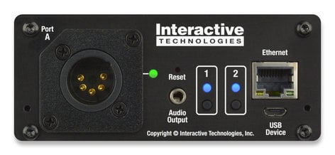 Interactive Technologies CS-920 CueServer 2 Mini Single Universe DMX Processor CS-920
