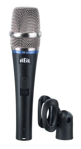 Heil Sound PR 22 Large Diaphragm, Low Noise Dynamic Microphone PR22-HEIL