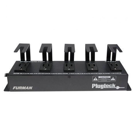 Furman PlugLock Locking Outlet Strip PLUGLOCK