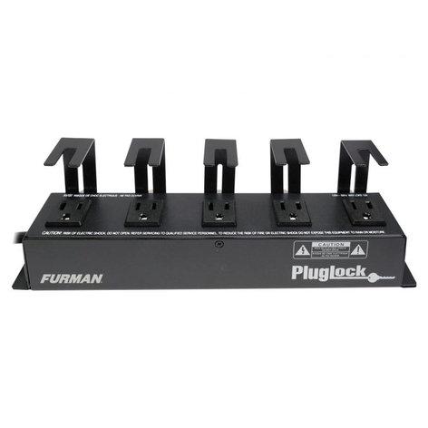 Furman PlugLock Locking Outlet Strip PLUGLOCK