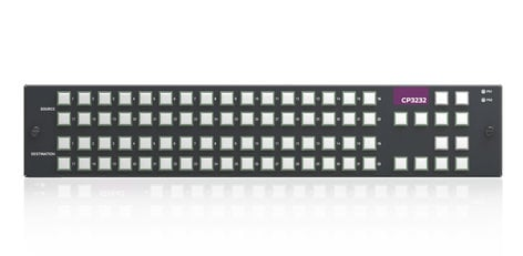 Grass Valley CP3232  XY Button panel for 2RU Nvision Compact Routers  CP3232