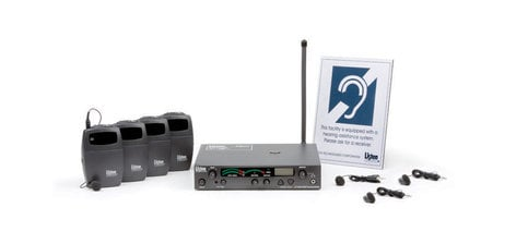Listen Technologies LP-3CV-072-01  3-Channel RF Value Package (72 MHz) (North America) LP-3CV-072-01