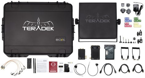 Teradek Bolt 1000 Deluxe Kit SDI/HDMI Wireless Video Transceiver Set with Receiver V Mount Included TER-10-0965-1V