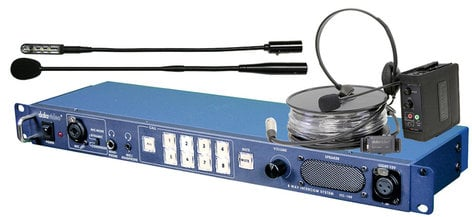 Datavideo Corporation ITC-100 Base Station Intercom System for up to 8 Remote Users ITC100
