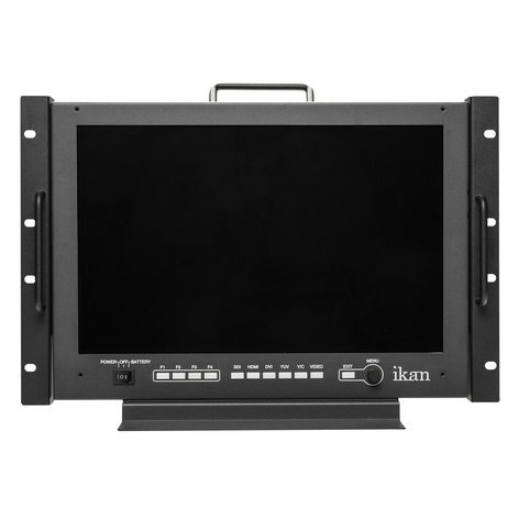 "ikan Corporation VXF17  17"" Full HD 3G-SDI/HDMI Rackmount Studio and Field Monitor  VXF17"