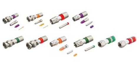 Kramer CC-BNC-59 BNC Compression Connector for RG-59 Coax Cable CC-BNC-59