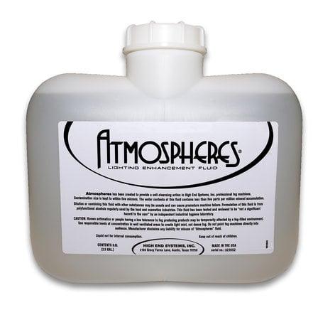 High End Systems Atmospheres HQ Formula Two 2.5 Gallon Bottles Per Case of Lighting Enhancement Fluid HQ-FORMULA-2X2.5G