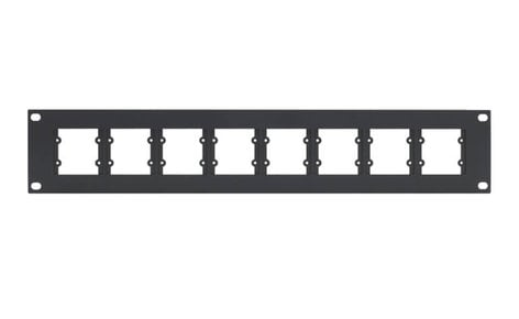 Kramer RK-WP16 Rack Adapter for Single & Double Wall Plate Inserts RK-WP16