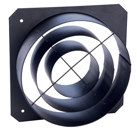 ETC/Elec Theatre Controls 400CCTH Concentric Ring Top Hat in Black 400CCTH