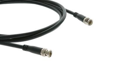 Kramer C-BM/BM-3 Molded BNC-BNC Cable, 3 Ft C-BM/BM-3